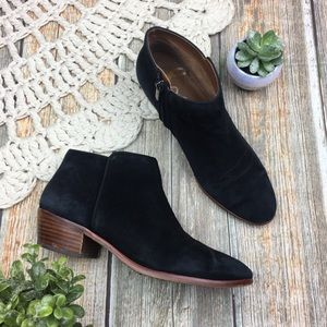 Sam Edelman | Petty Suede Leather Ankle Booties